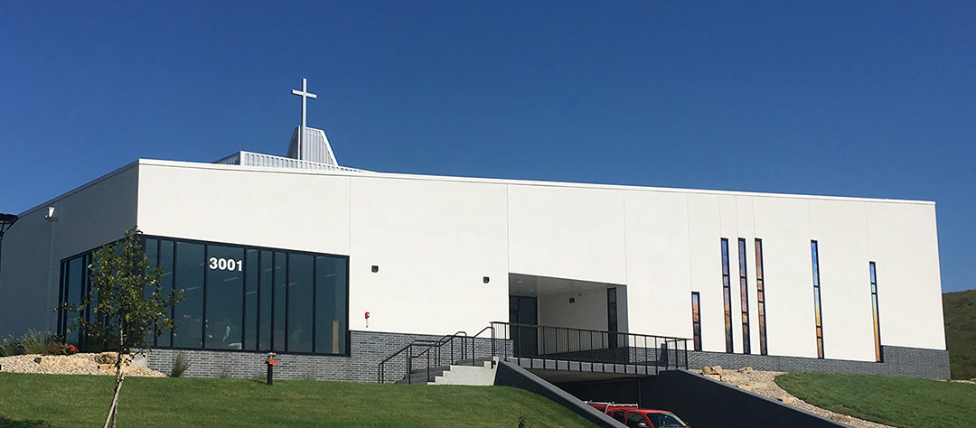 First Christian Church, Manhattan, Kansas, dedicates new building